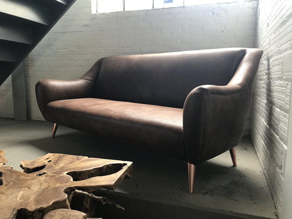 Waterfront Sofa. Blue Moon Furniture store in winnipeg