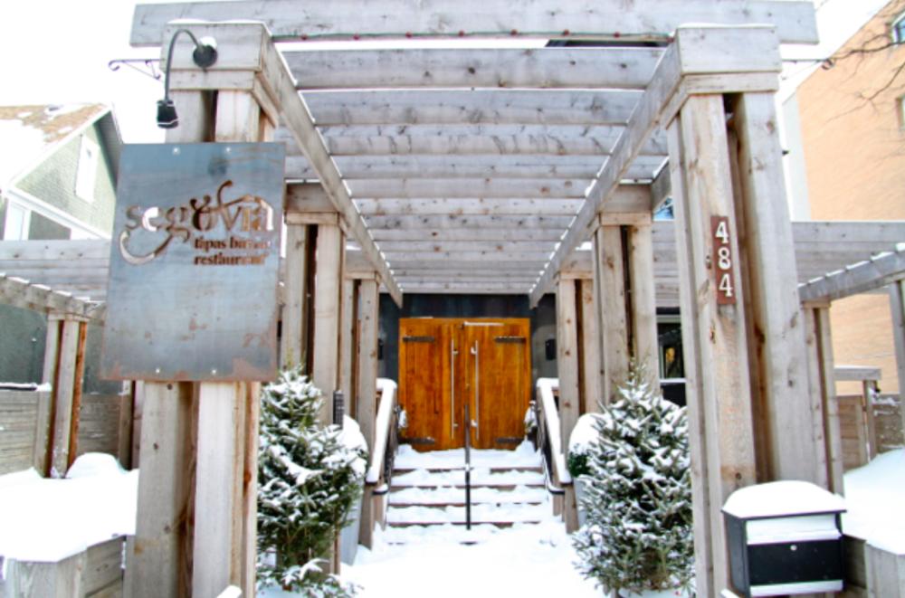 Segovia Tapas Bar Entrance Doors