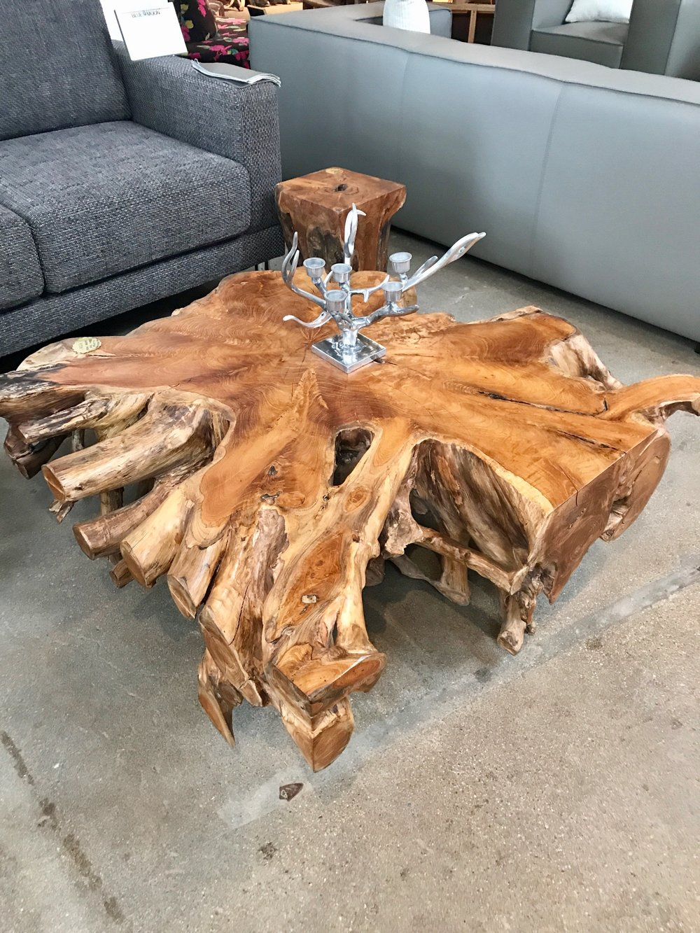 Blue Moon Furniture coffee table. teak root coffee table.jpg