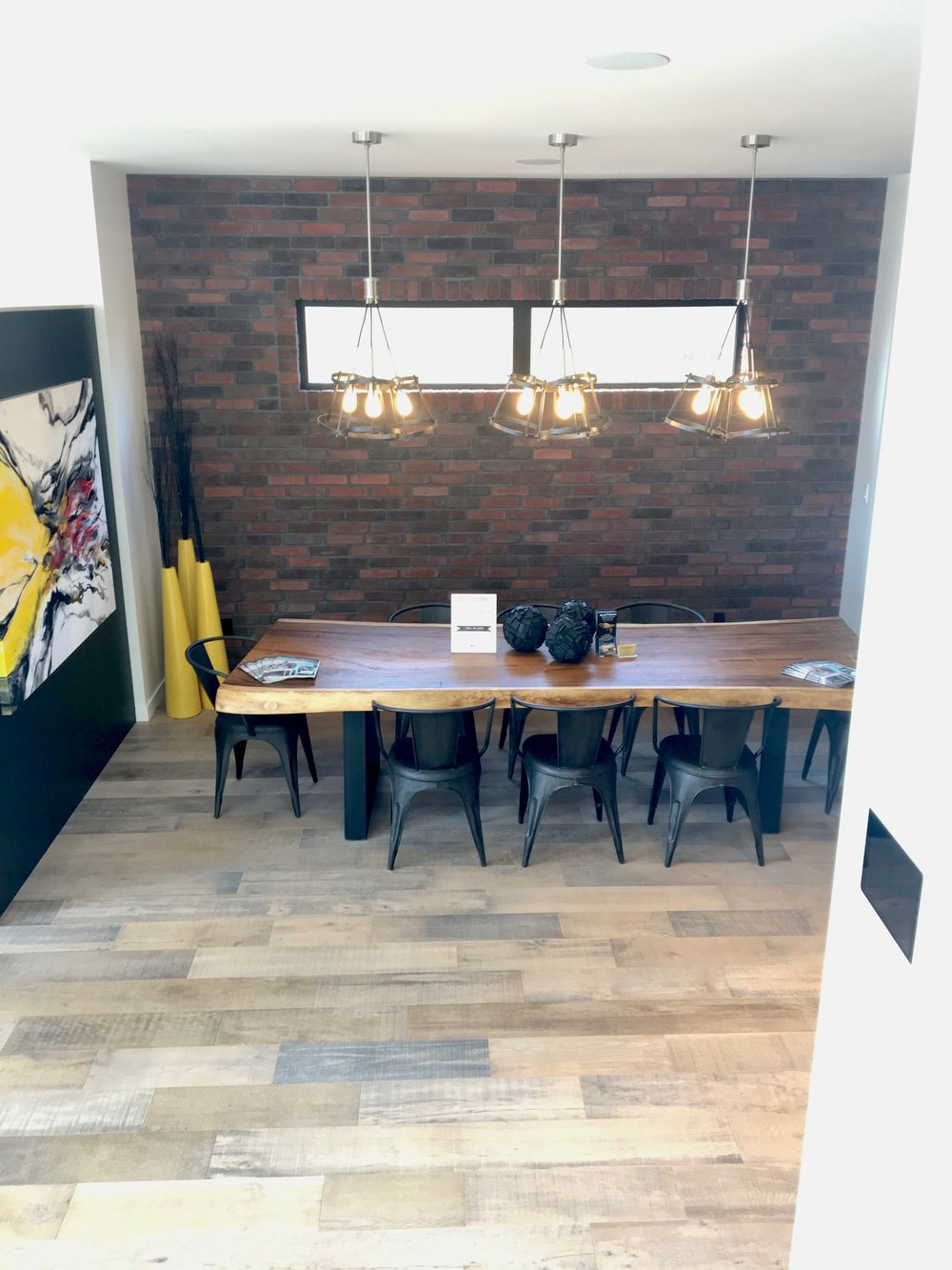 Artista show home furniture. blue moon furniture winnipeg. fall parade of homes 2017 show home furniture. dining table single slab live edge.jpg