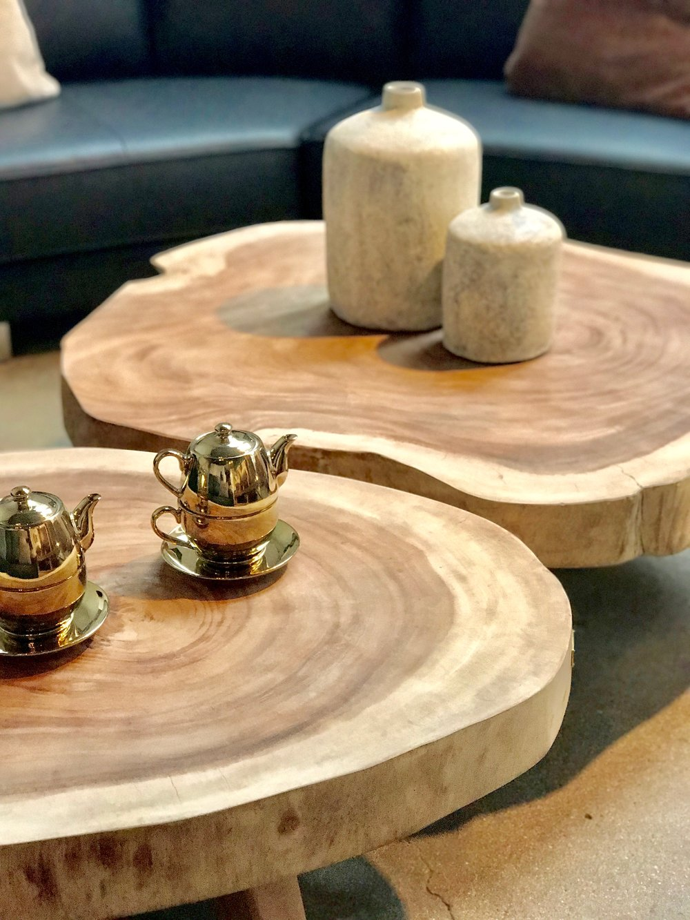 coffee tables. live edge single slab slice wood coffee tabesBlue Moon Furniture Store, Winnipeg, Manitoba, Canada. Modern, Contemporary cool luxury furniture. Local design.jpg