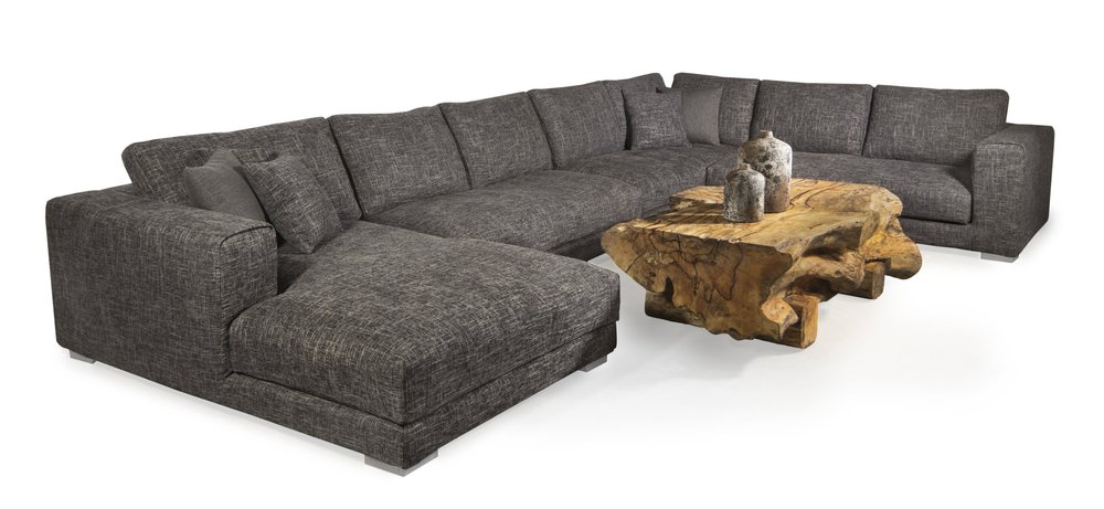 tweed sectional. Leather sectional in winnipeg.  Winnipeg furniture store. Luxury furniture store in winnipeg.jpg