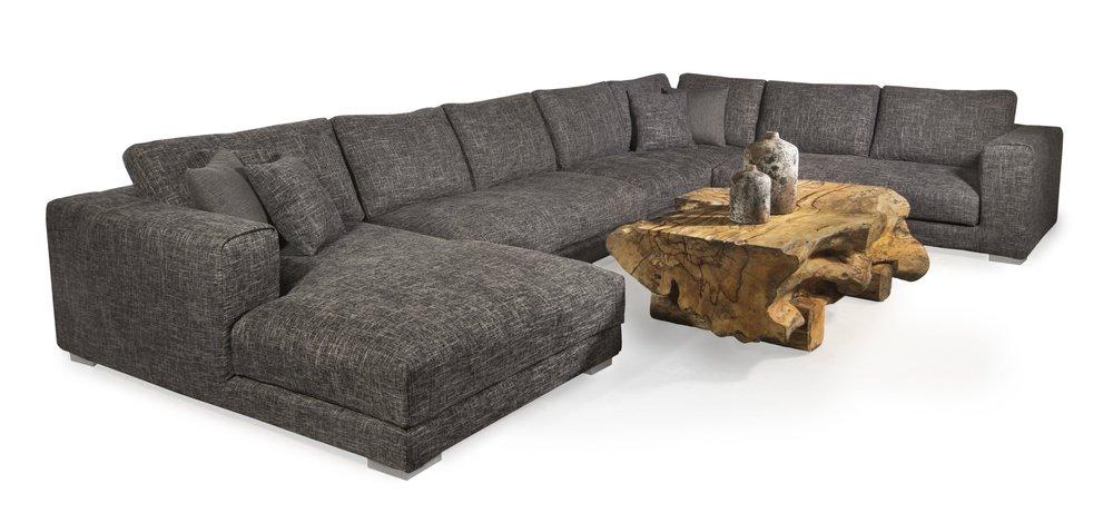 tweed sectional. Leather sectional in winnipeg.  Winnipeg furniture store. Luxury furniture store in winnipeg.jpg