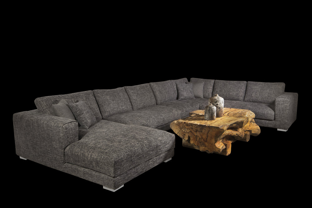 Copy of louie tweed sectional