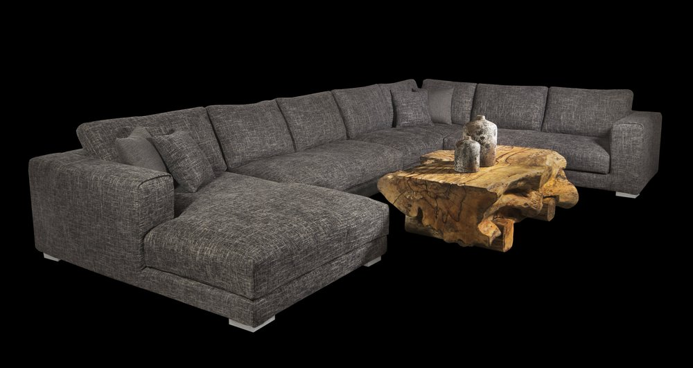 huge tweed sectional. Blue Moon Furniture store winnipeg.jpg