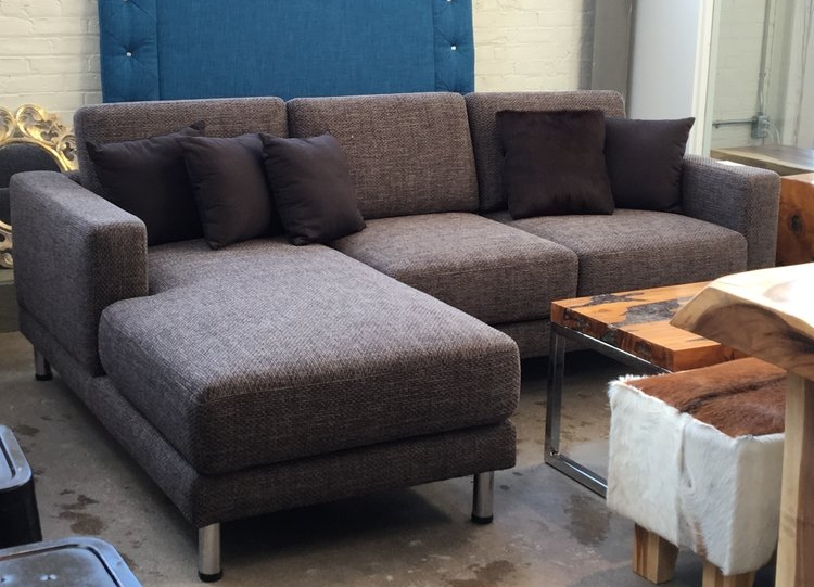 design 2 in tweed. Blue Moon Furniture store in Winnipeg