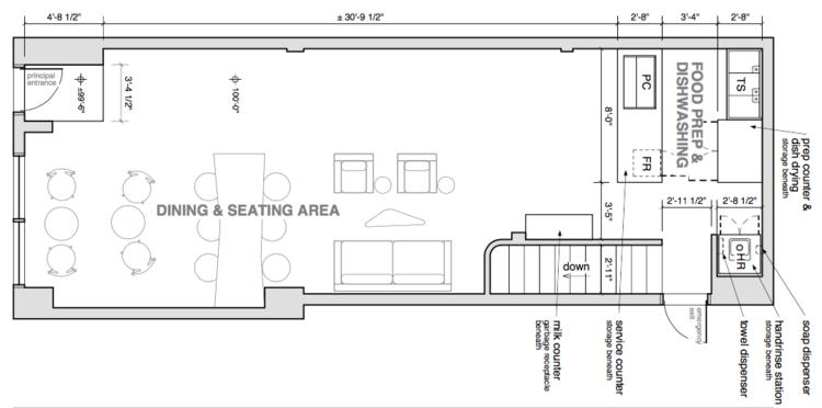 Tea House Furniture & Builtin Layout