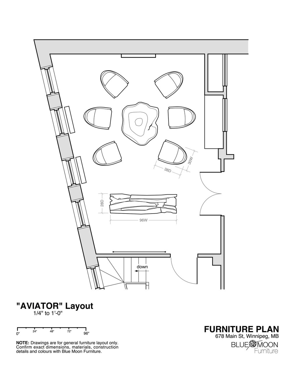 Conference Room & Furniture Layout