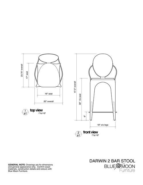 custom industrial bar stool, counter stool