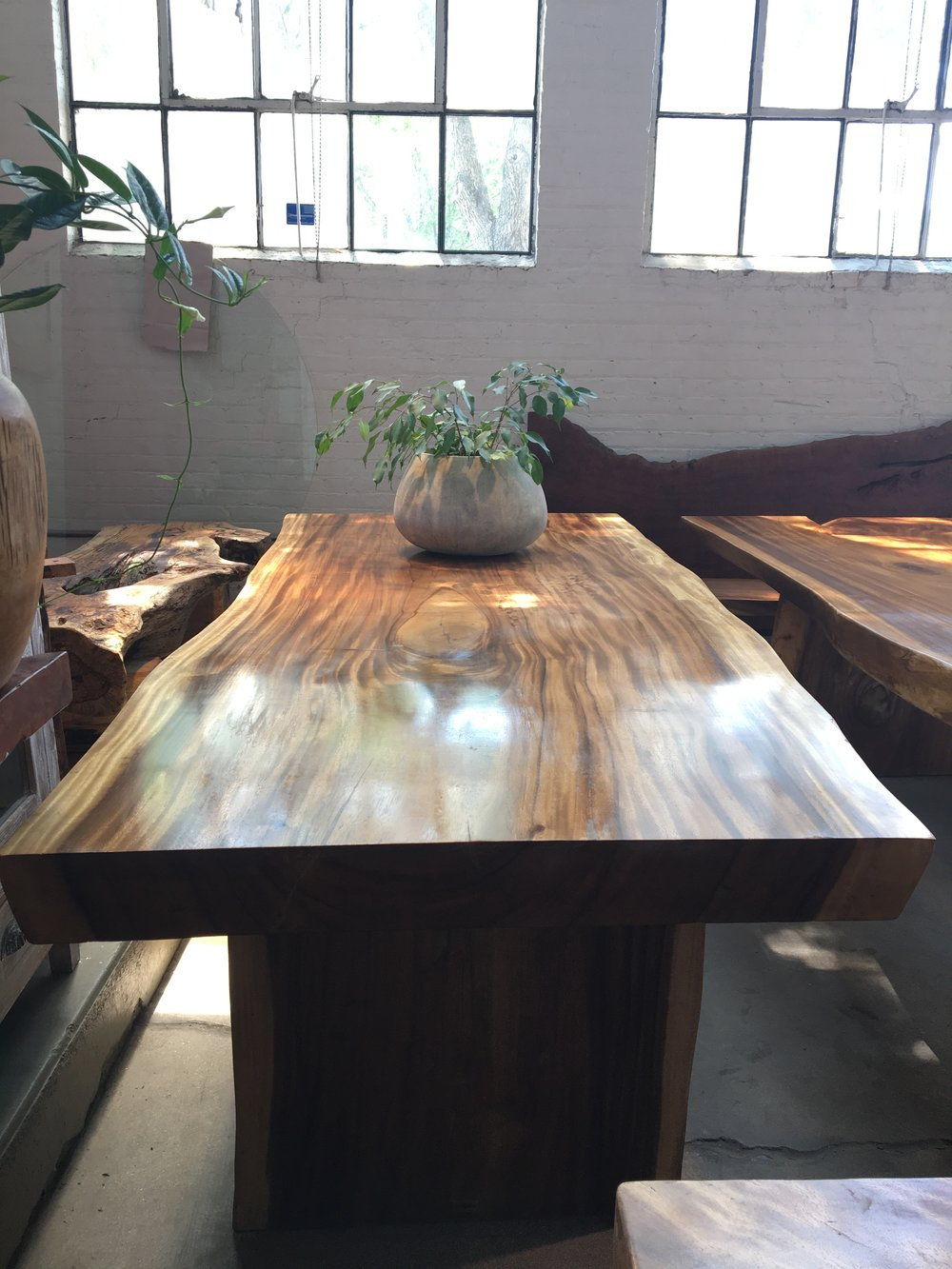 extra wide live edge dining table. luxury, modern furniture in winnipeg, canada.JPG