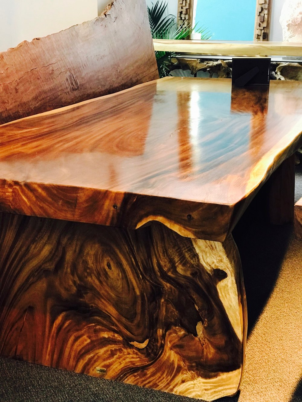 Majestic Live Edge Dining Table. blue moon furniture store in winnipeg.jpg