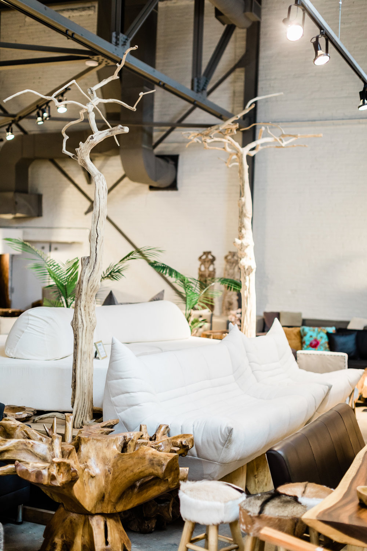 Wolseley Sofa and chair. Blue Moon Furniture store in Winnipeg.