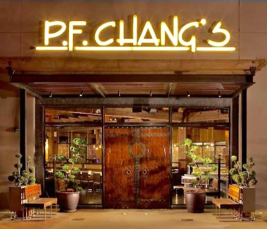 PF Chang's custom doors by Blue Moon Furniture