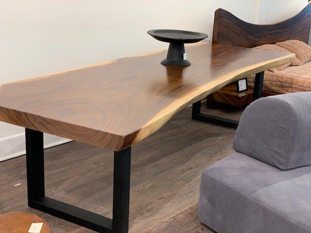 Blue Moon Furniture Majestic Live Edge Dining Tables Majestic Live Edge Dining Table