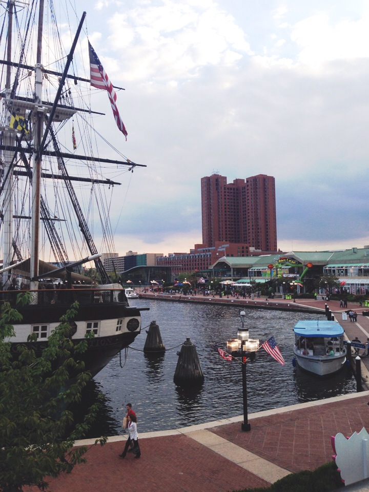 Hang out inner harbor a while before heading back to NYC...