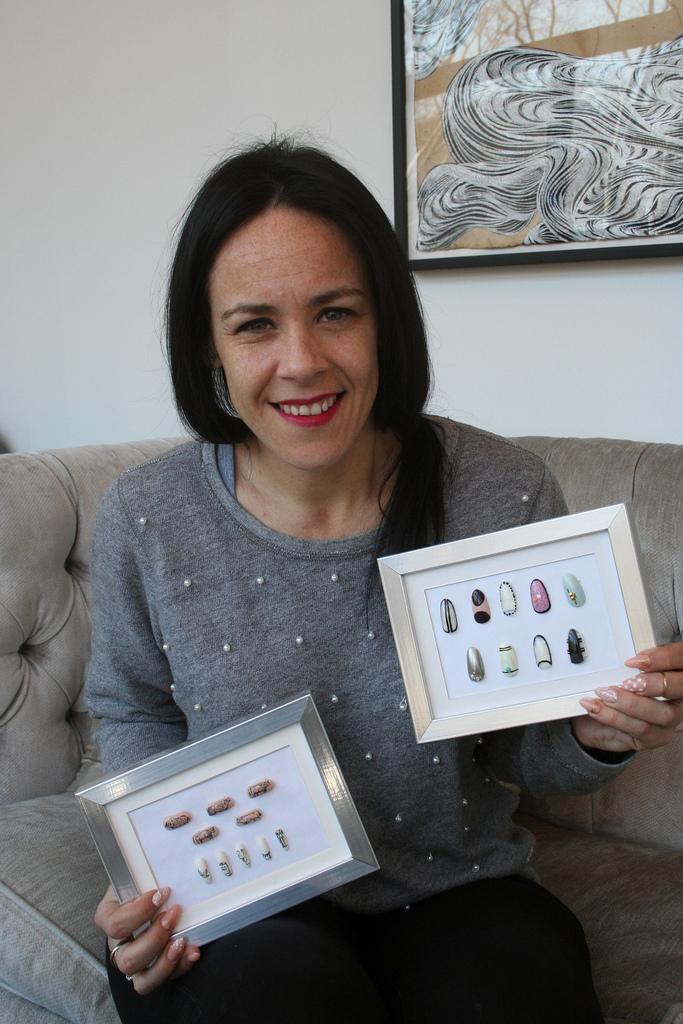 Rita de Alencar Pinto - thanks for showing me cool nail art!