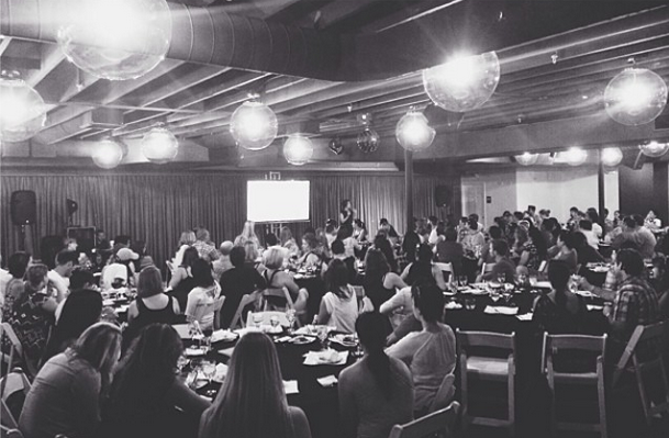Photo from the Startup Women dinner
