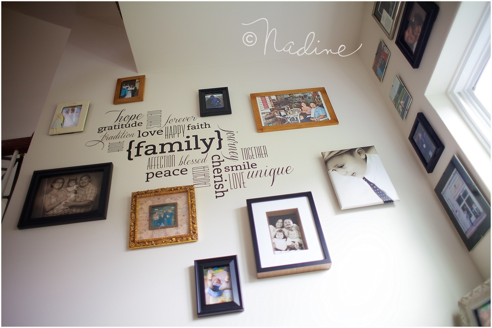 Wall Art Idea - Frame Grouping