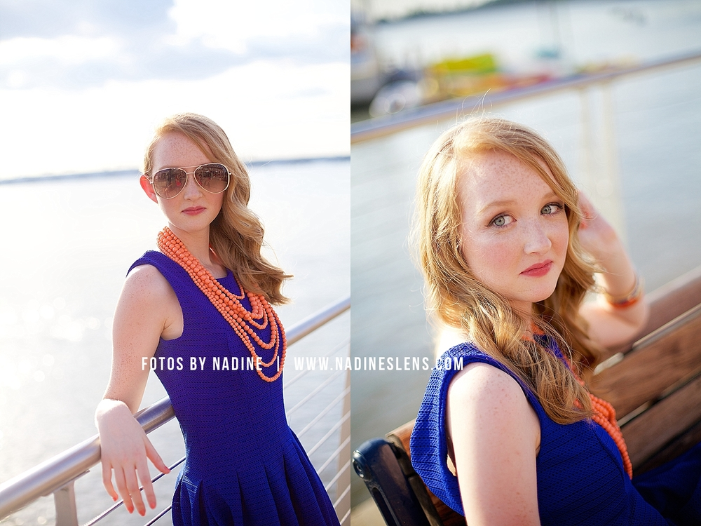 gorgeous summer senior session at the national harbor by fotos by nadine