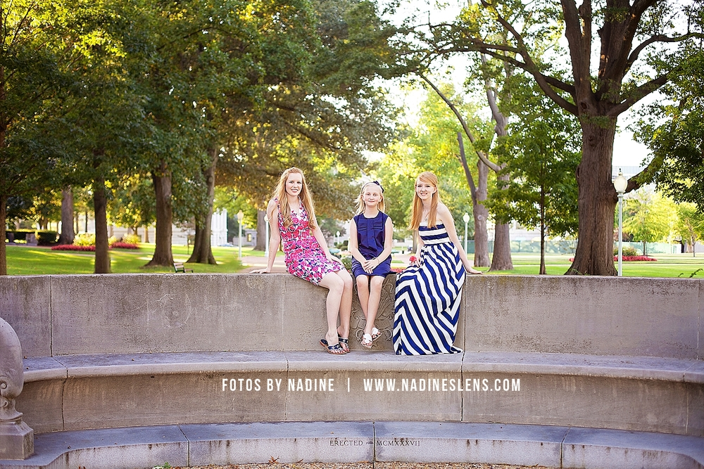 gorgeous sunfilled sisters session in annapolis, md with fotos by nadine