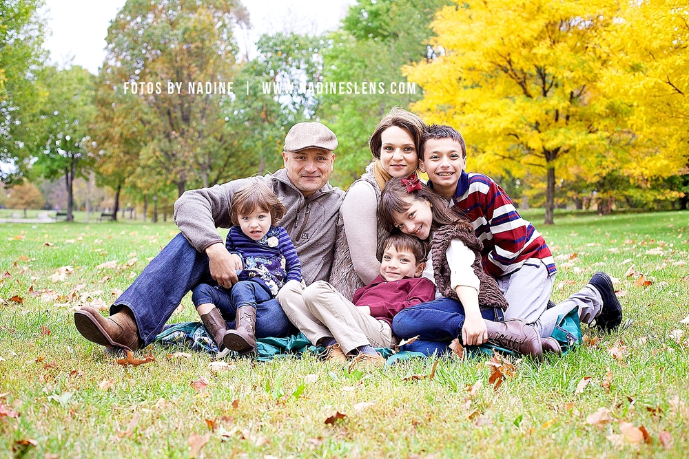 beautiful family session in washington dc