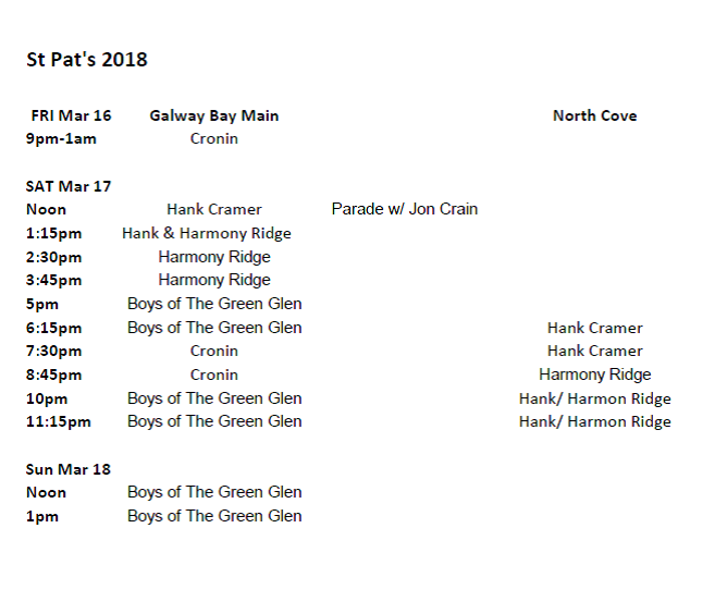 St Pat's Final Schedule 2018.png