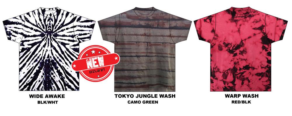 garment dye washes