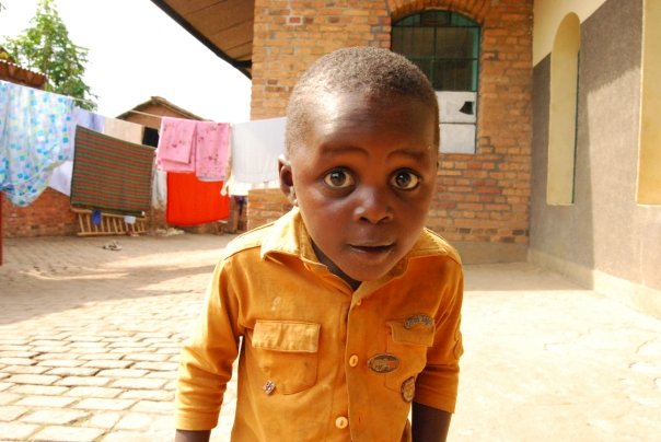 Manishimwue, an orphan I was living with during my stay in Rwanda.