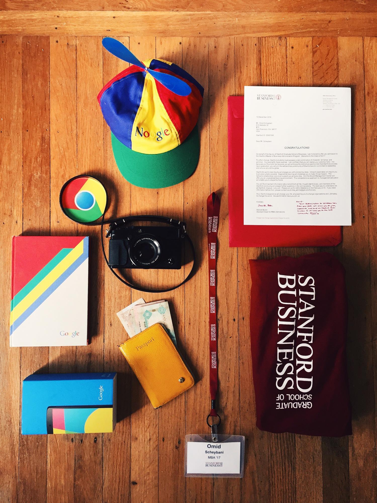 Good-bye Google, Hello Stanford! — Omid Scheybani