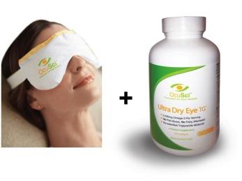 Dry Eye Starter Kit: Dry Eye Compress and Ultra Dry Eye TG
