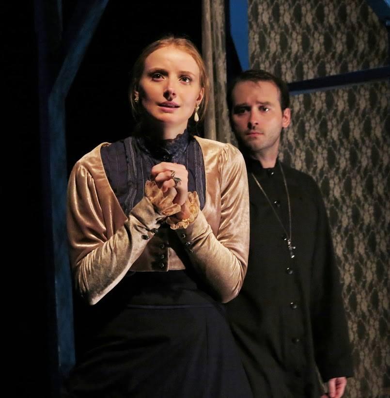 Mr. Bengt's Wife  Strindberg Repertory Company Pictured w. Matt Hurley
