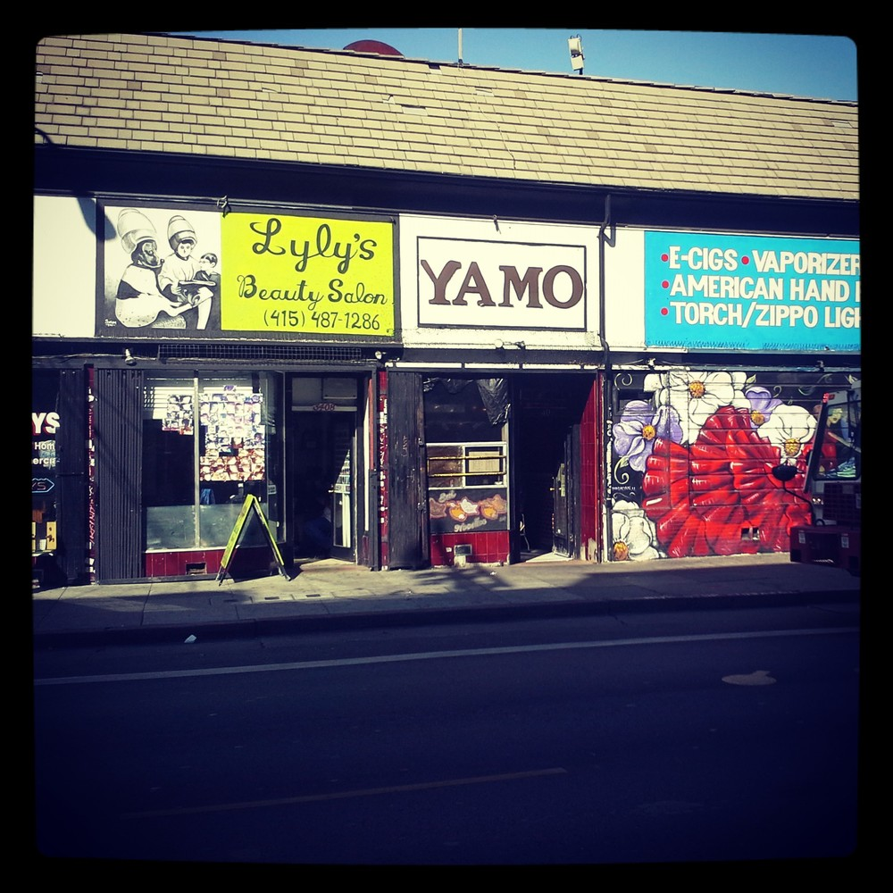 I visited my favorite spots. (If you haven't had Yamo in the mission. You need to go NOW.)