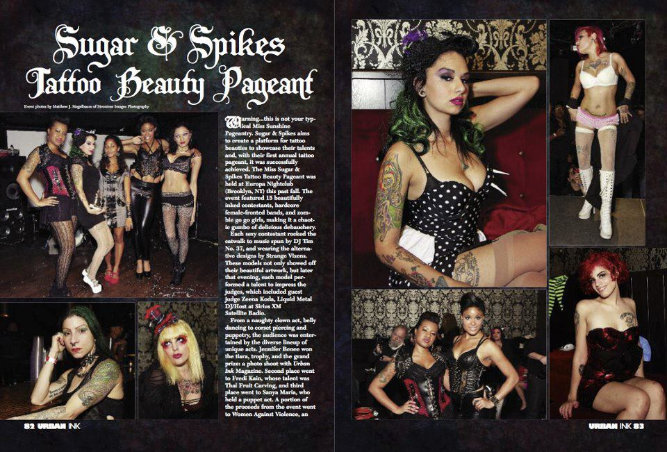 URBAN INK MAGAZINE AUGUST 2012
