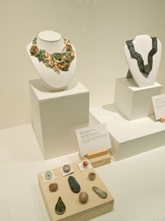 Bead Maker:  Greg Hanson   Jewelry Artist:  Marcie Stone Fran Stone