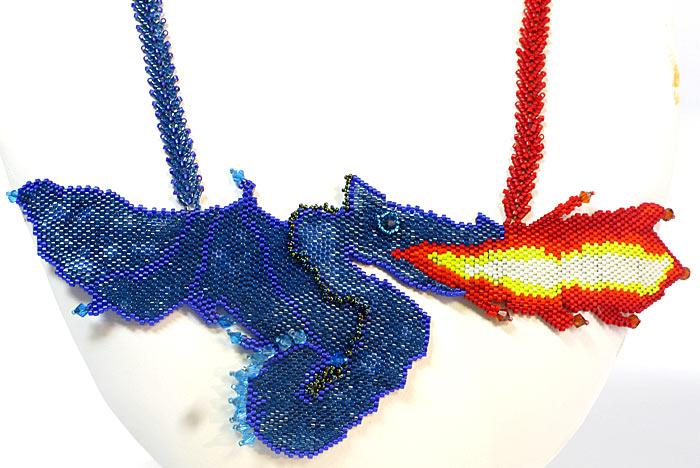 Blue Dragon by Marilyn Grock