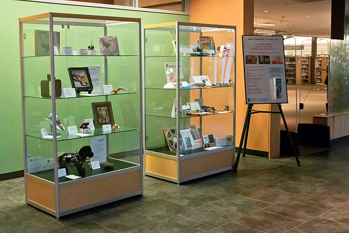 Tigard Library - PBS Traveling Library Display 2017