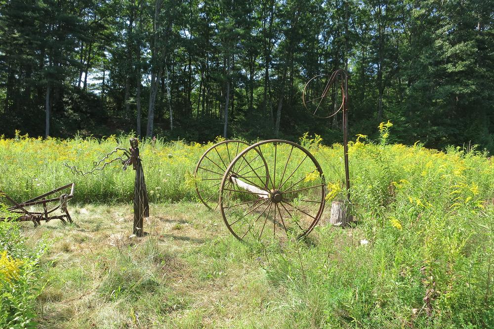 Sculpture Walk 2014 — Old Frog Pond Farm & Studio