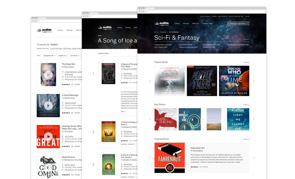 Audible series-search-theme