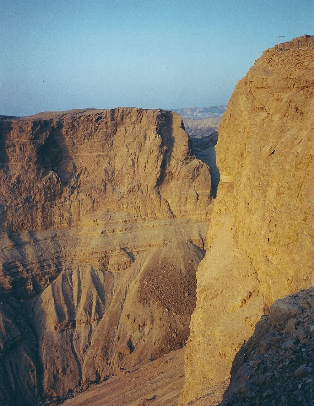 The Negev: Abraham and Sarah's Desert                Masada, Israel  2000