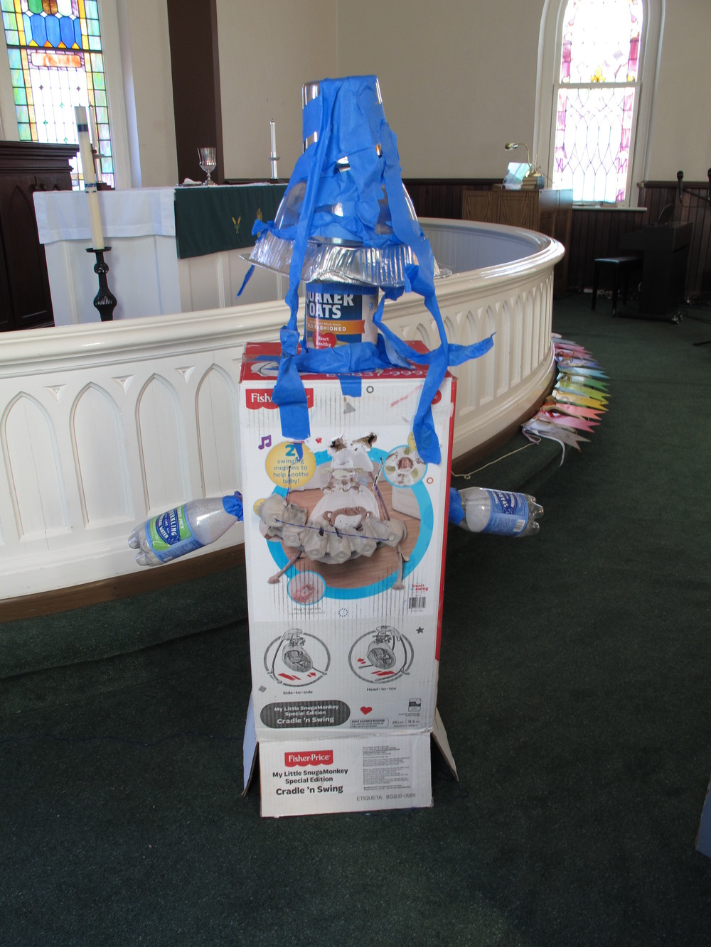 Recycled Robot Rendition                                             Bethel Sunday School, 2015