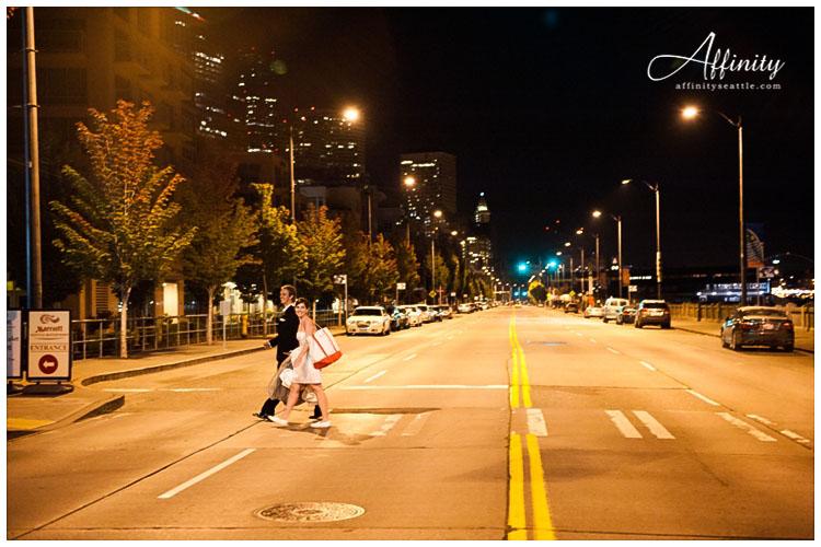 049-bride-groom-end-night-walk-seattle-crosswalk.jpg