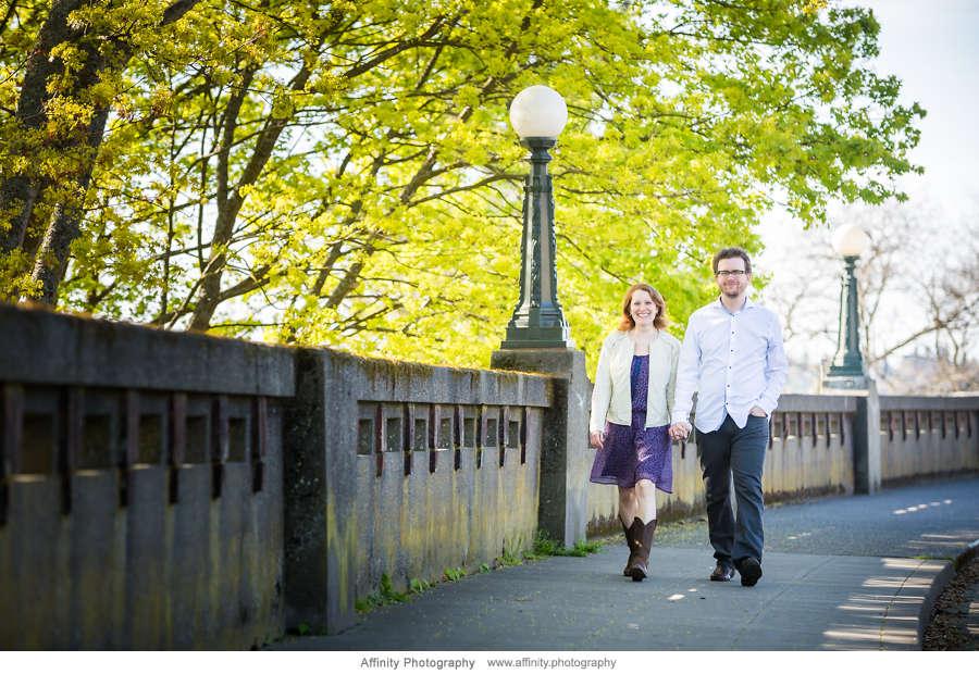 Walking near Kerry Park