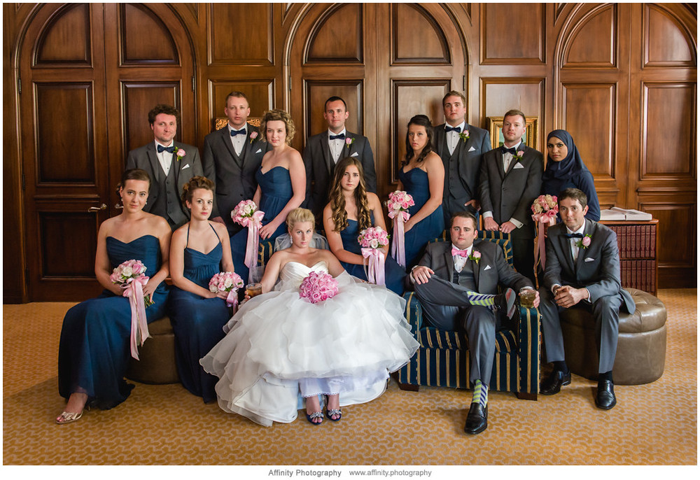 wedding-party-posed-group-library