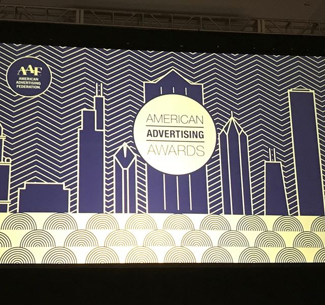 Bring it! The @aafnational American Advertising Awards show is on! Good luck @opticskypro @partnersnapier @causewave @truthroc @lisagorham #forgeinspiration #forgeideas