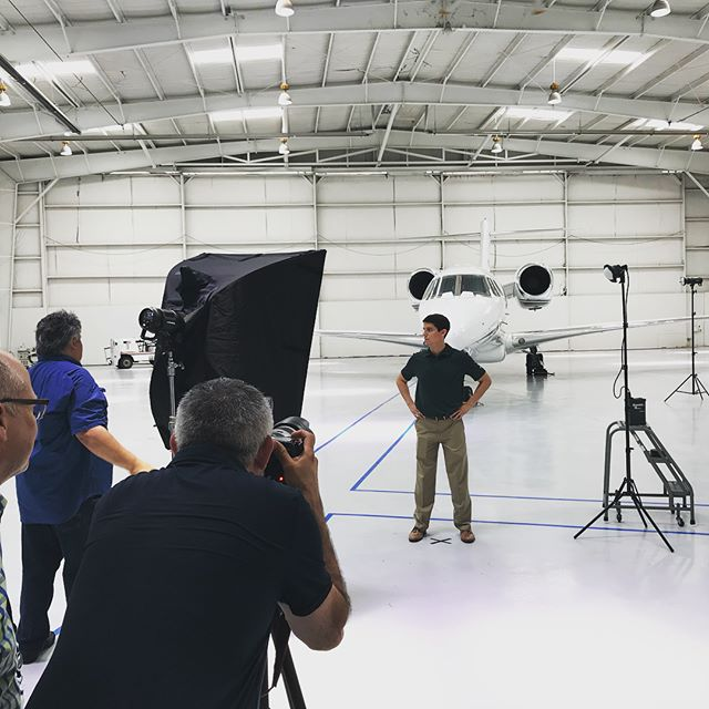 Photography in an airport hangar in 105 degree heat, is awesome. And by awesome we mean awesome. #texas #fortworth #agencylife #textron #forgephotography #forgeideas