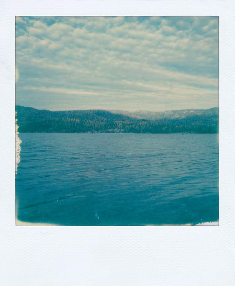 Shaver Lake in November III /w IP Type 600 Film