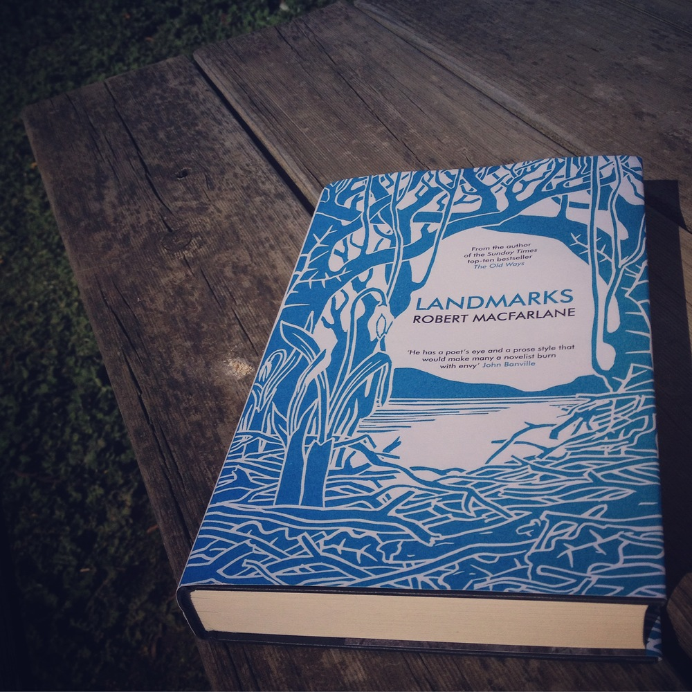 Unique and alluring cover art accompanies Macfarlane's poetic prose. Photo: Alex Mullarky