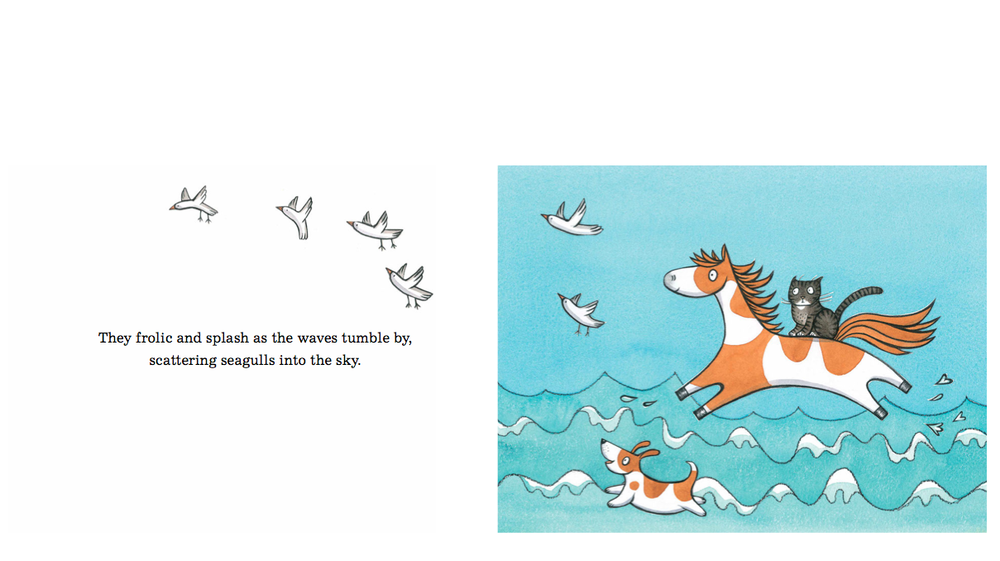 Noni the Pony goes to the Beach by Alison Lester (Allen and Unwin, 2014).