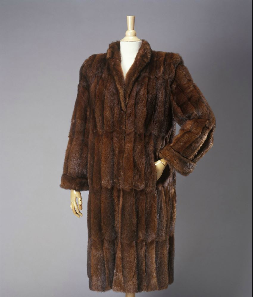 The rakali coat held in the Powerhouse Museum.  Image: Powerhouse Museum