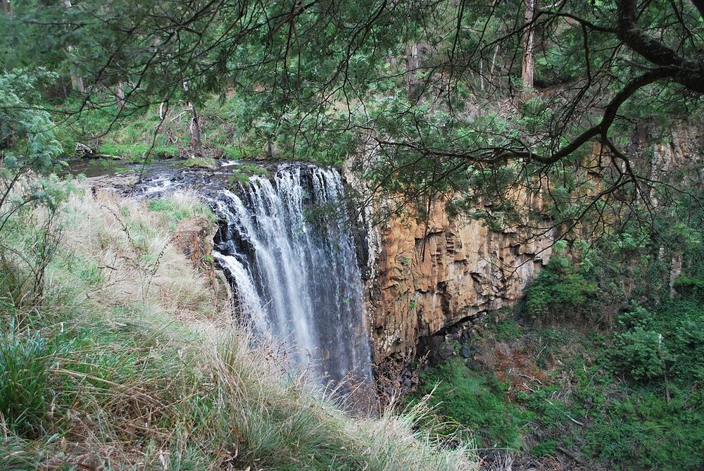 Trentham Falls, Trentham. Photo: Mattinbg
